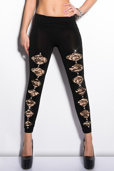 Roupa Leggings c/ cristais
